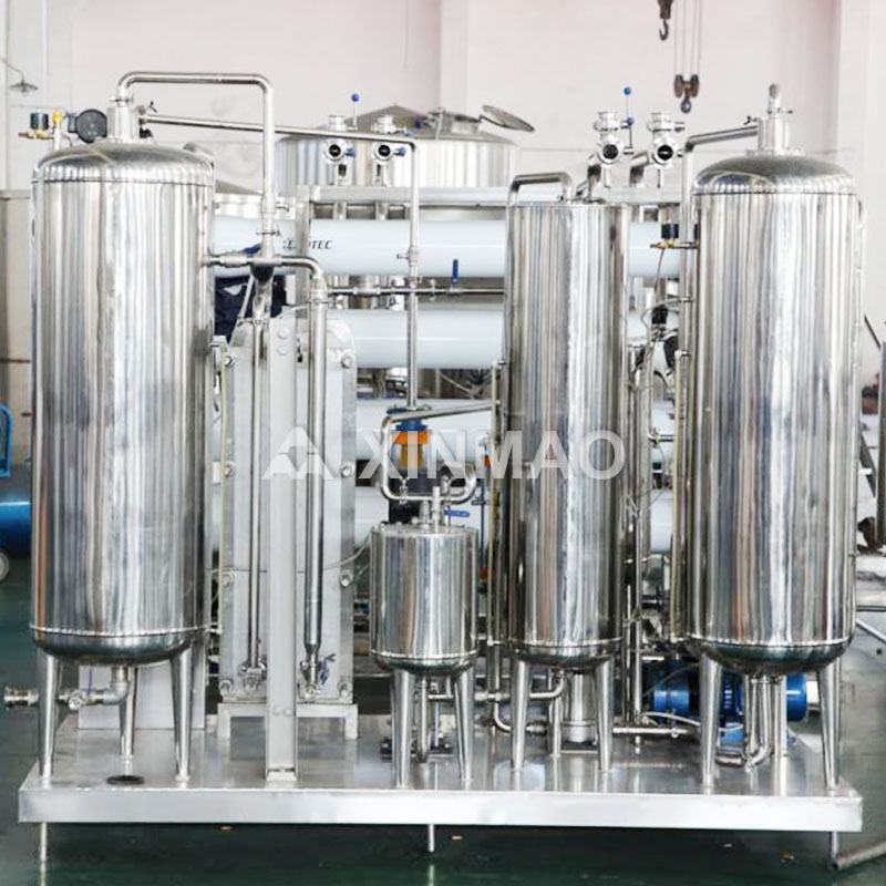 Xinmao carbonic soft drink plant factory for soft drink-2