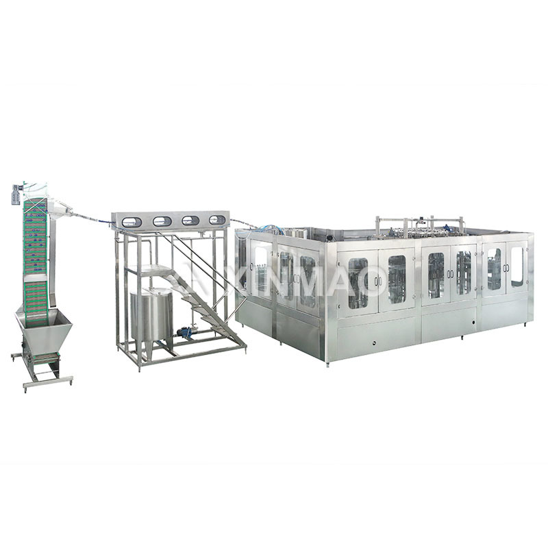 PET Carbonated Beverage Filling Machine