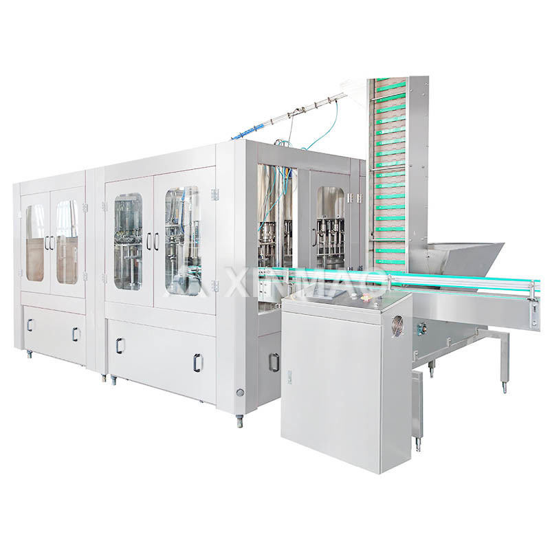 Glass Bottled Carbonated Beverage Filling Machine
