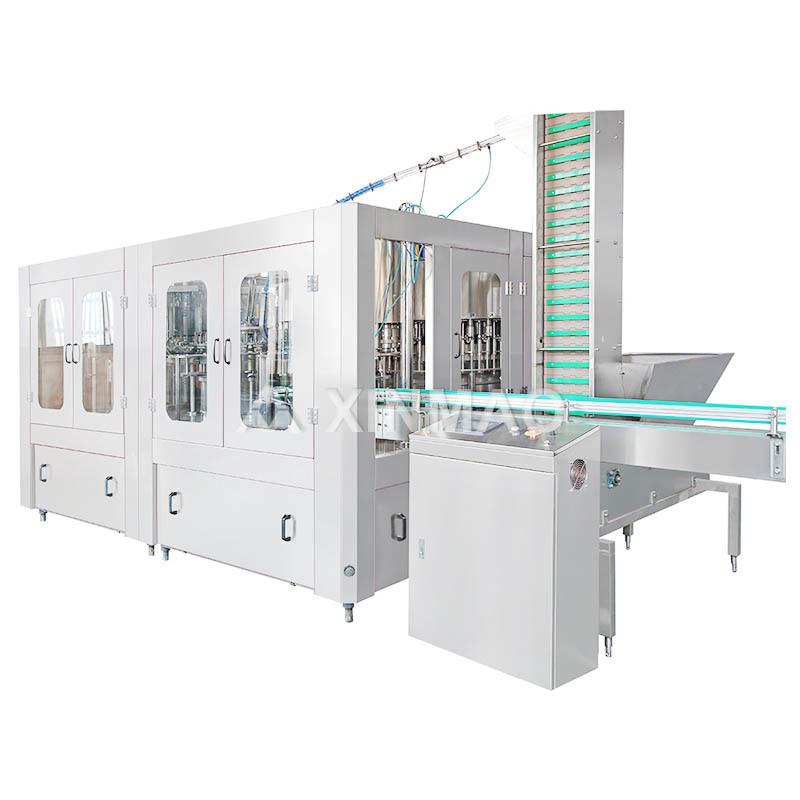 Glass Bottled Carbonated Beverage Filling Machine