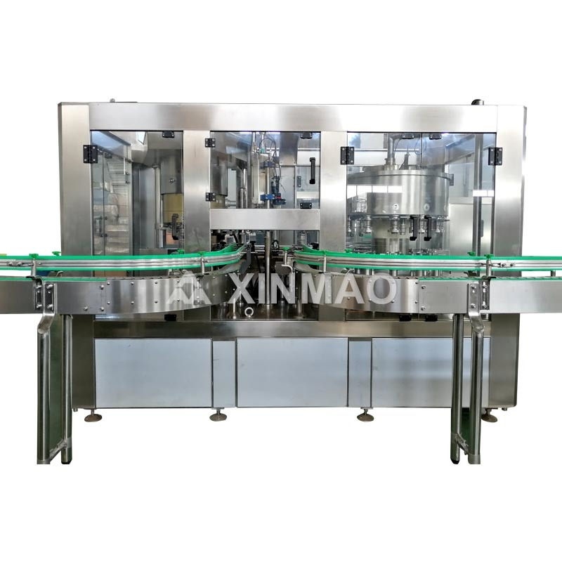 Canned Juice Filling Machine