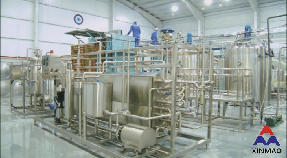 XINMAO Aluminium canned drink production line