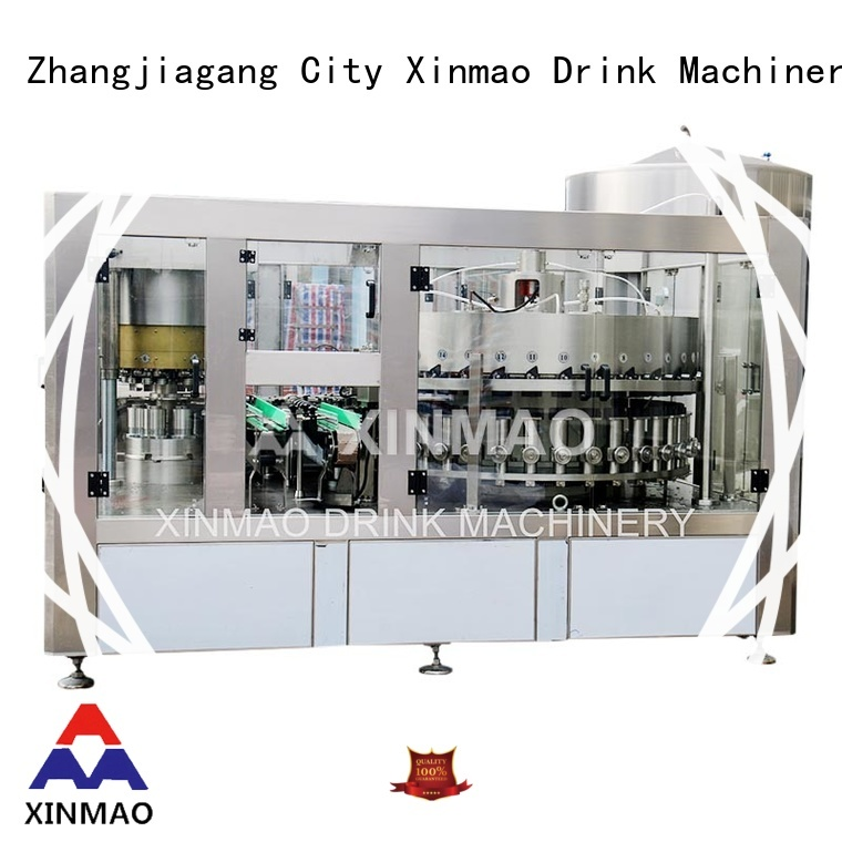 Xinmao latest soft drink filling machine for business for carbonated drink