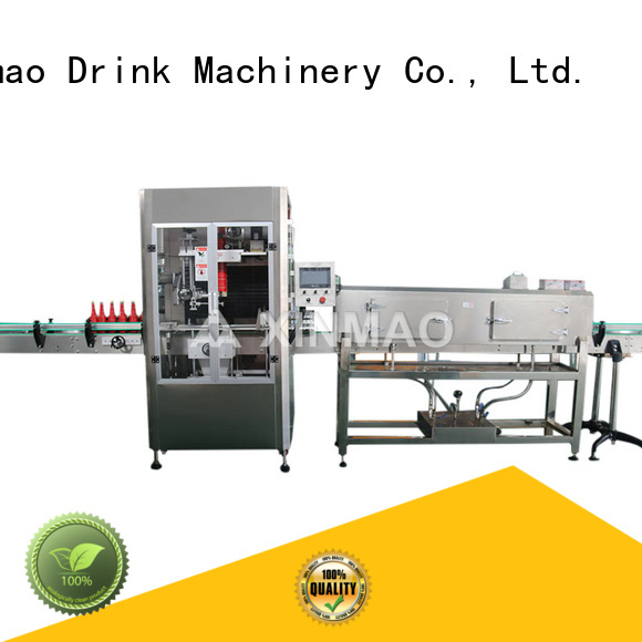 Xinmao automatic bottling and labeling machine suppliers for water bottle