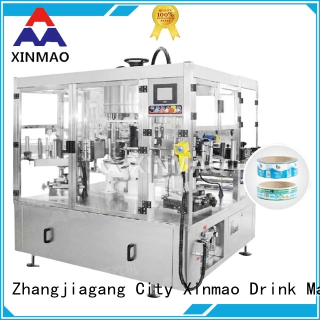 Xinmao selfadhesive round bottle labeling machine for business for factory