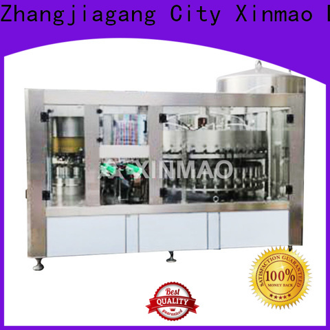 Xinmao high-quality automatic beer bottle filler for business for beer can