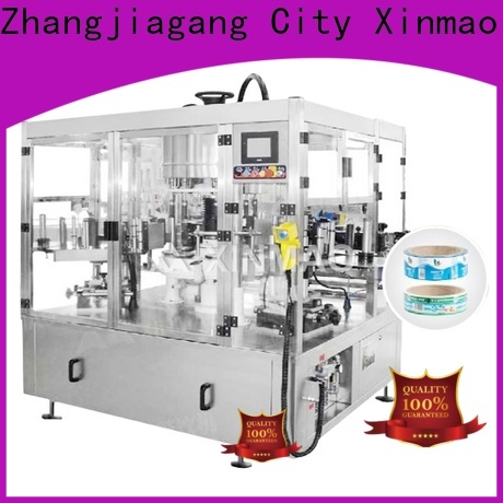 Xinmao automatic adhesive labeling machine company for factory