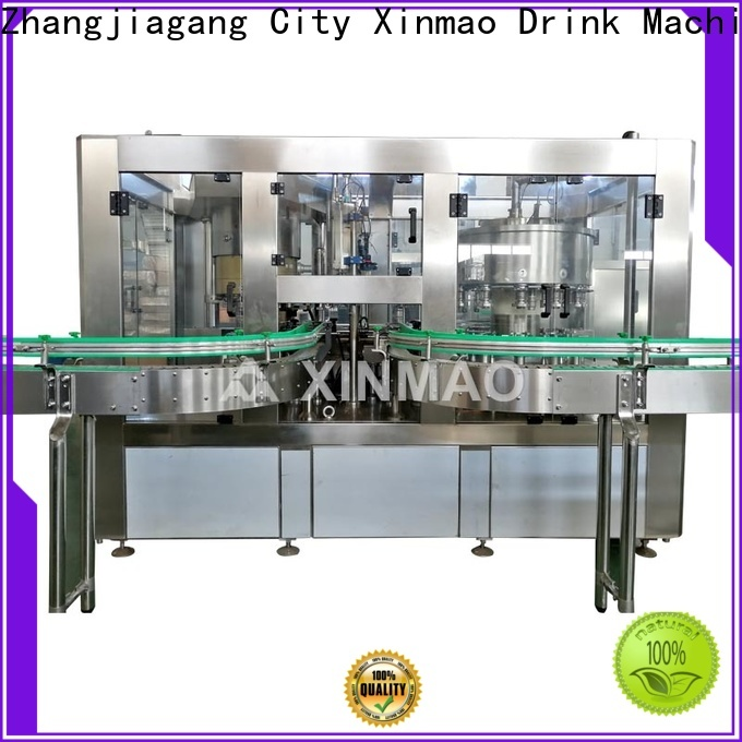 Xinmao drink juice packing machine company for fruit juice