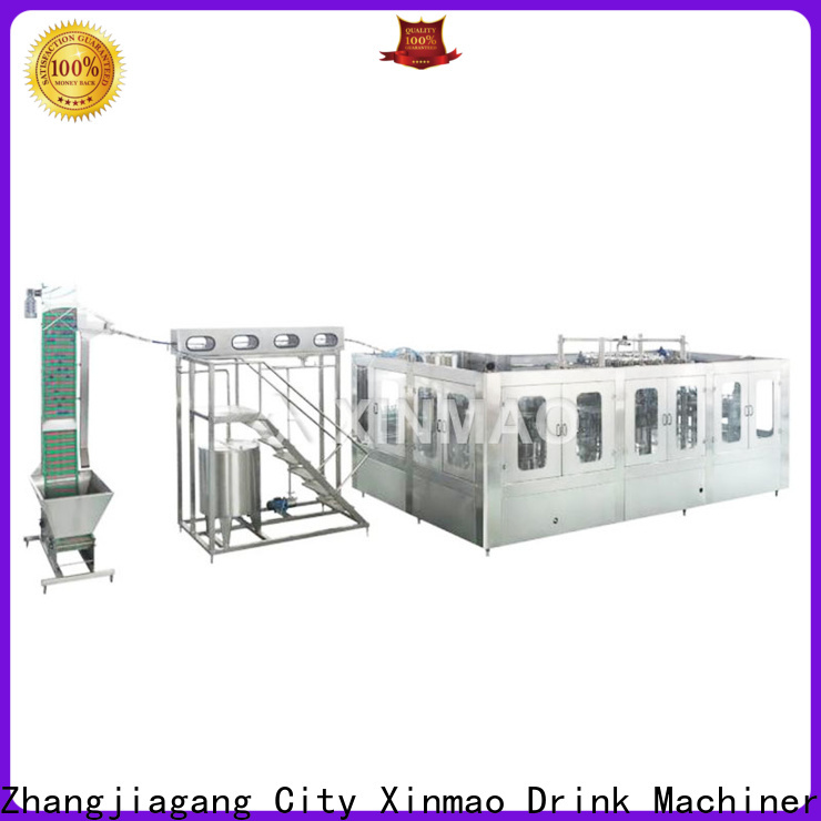 Xinmao automatic mineral water jar filling machine for sale for water jar