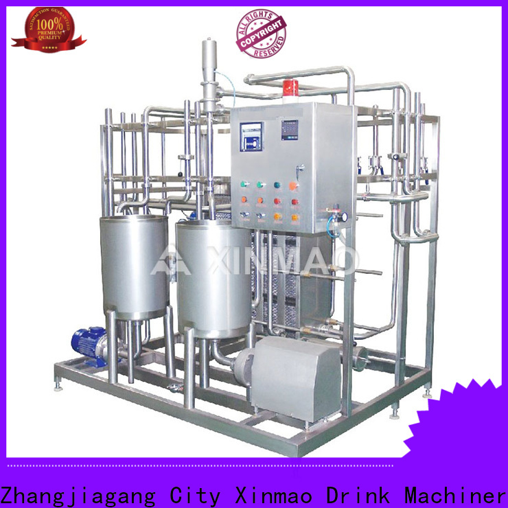 Xinmao equipment beverage blending system manufacturers for juice