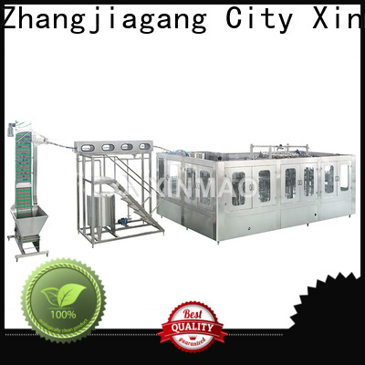 Xinmao custom soda bottling line manufacturers for soda