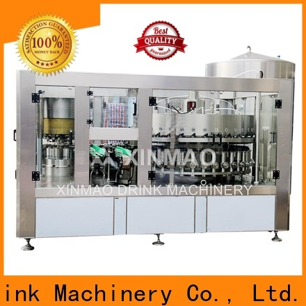 Xinmao pet carbonated beverage filler supply for carbonated drink