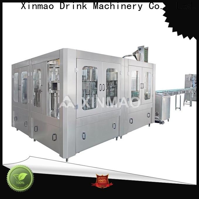 Xinmao latest pet bottle filling machine supply for pet bottle