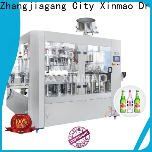 Xinmao filling beer packaging line for sale for beer