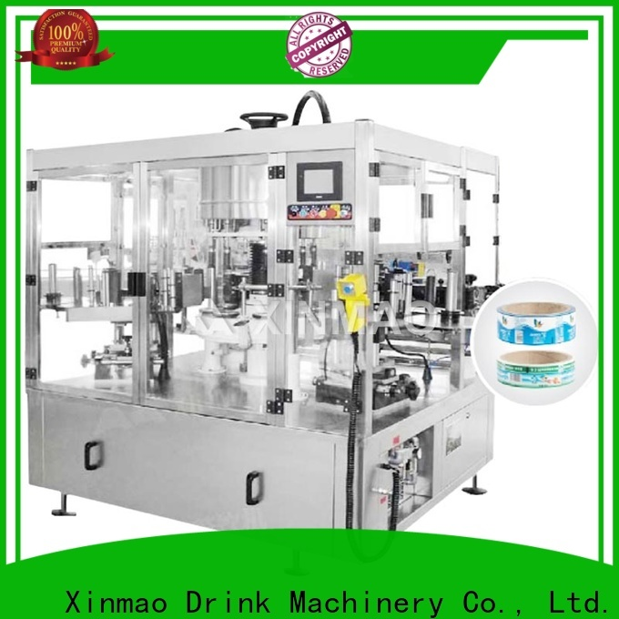 Xinmao automatic sleeve labeling machine company for plastic bottles