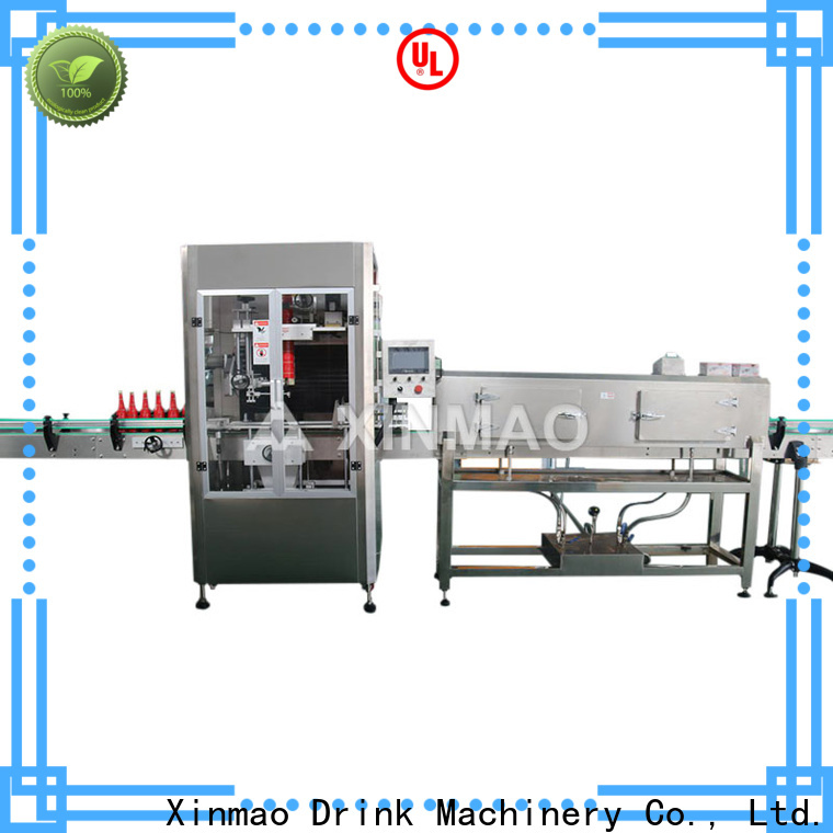 Xinmao opp filling and labeling machines manufacturers for water bottle
