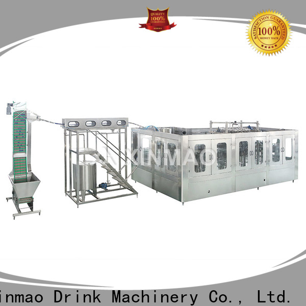 Xinmao pet carbonated beverage bottling equipment supply for soft drink