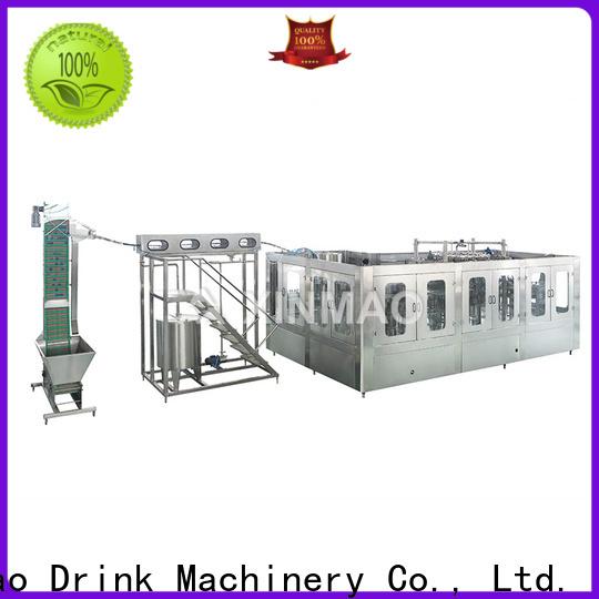 Xinmao top small juice filling machine factory for mango juice