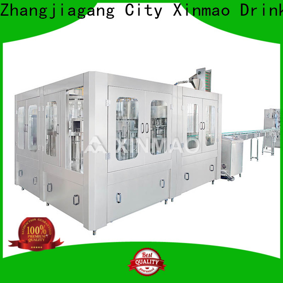 Xinmao pet fruit juice packaging machine for business for juice