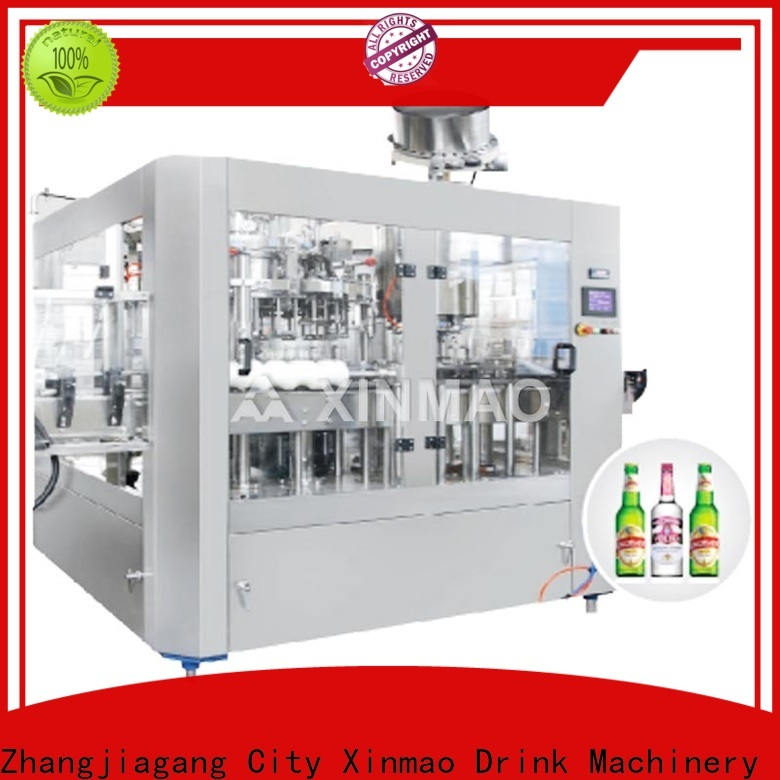 Xinmao automatic beer canning equipment for business for beer can