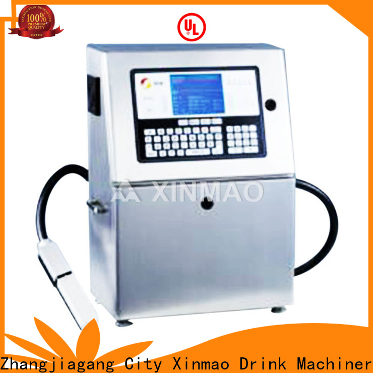 Xinmao date automatic round bottle labeling machine with date printing machine for business for round bottle