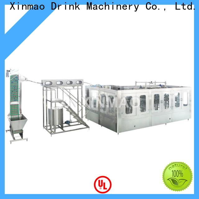 Xinmao threeinone jar filling machine factory for factory