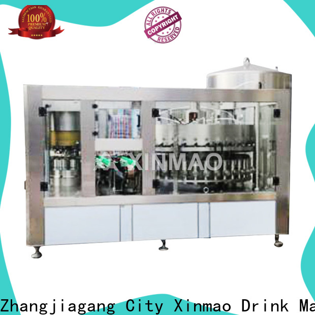 Xinmao canned beer bottle filling machine for sale for beer bottle
