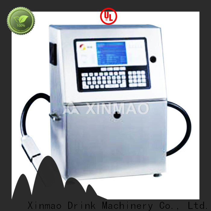 Xinmao date bottle expiry date printing machine for business for plastic bottle