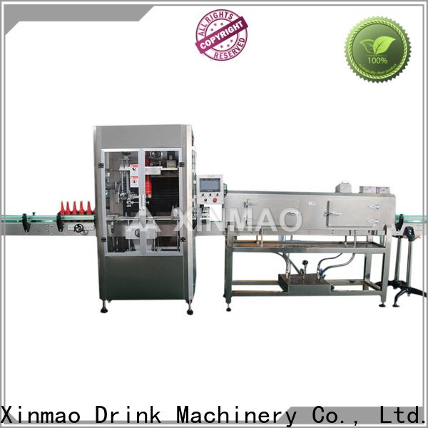 Xinmao New automatic labeling machine manufacturers for water bottle