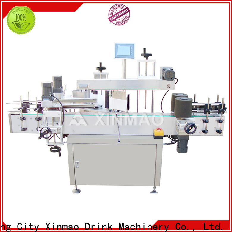 Xinmao labeling label printing machine suppliers for plastic bottles