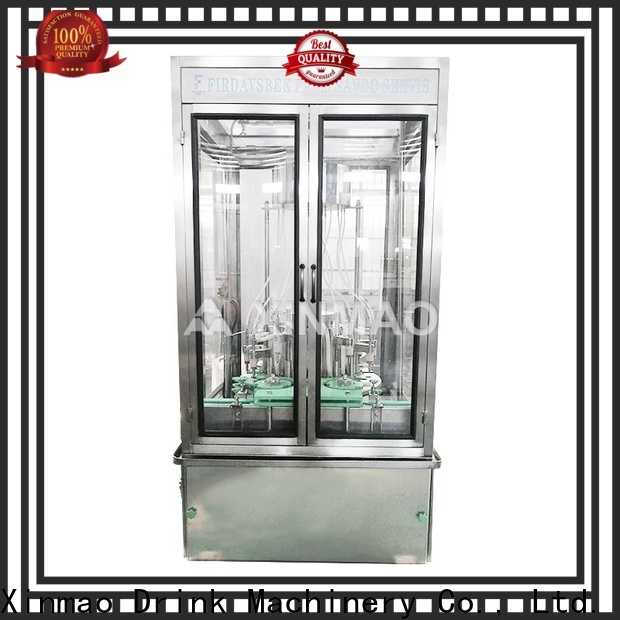 Xinmao edible olive oil bottle filling machine company for soy sauce