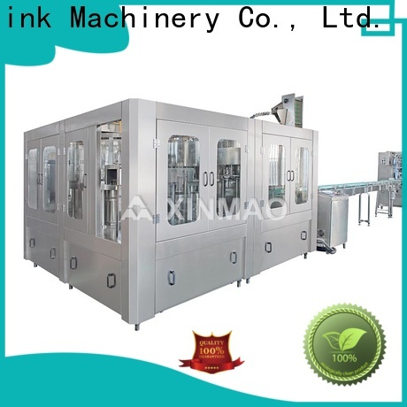 Xinmao big small bottle filling machine supply for mineral water