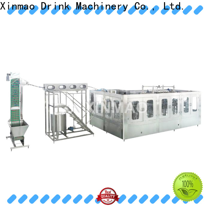 Xinmao automatic barrel filling machine manufacturers for pet bottle