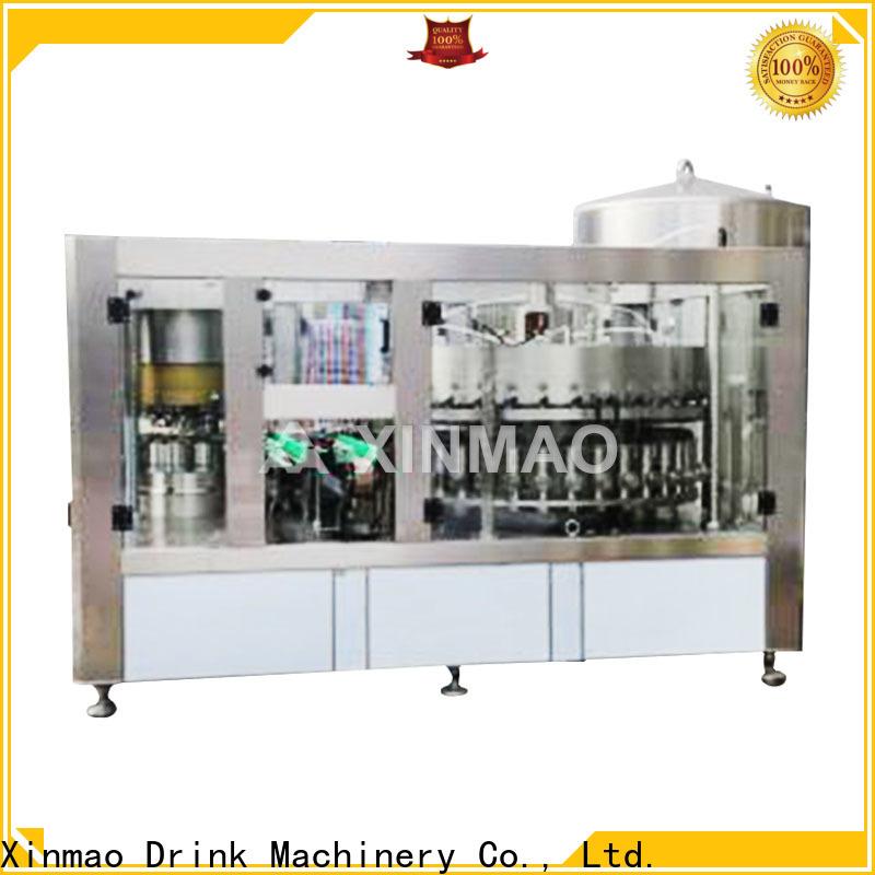 Xinmao top small beer bottling machine manufacturers for beer