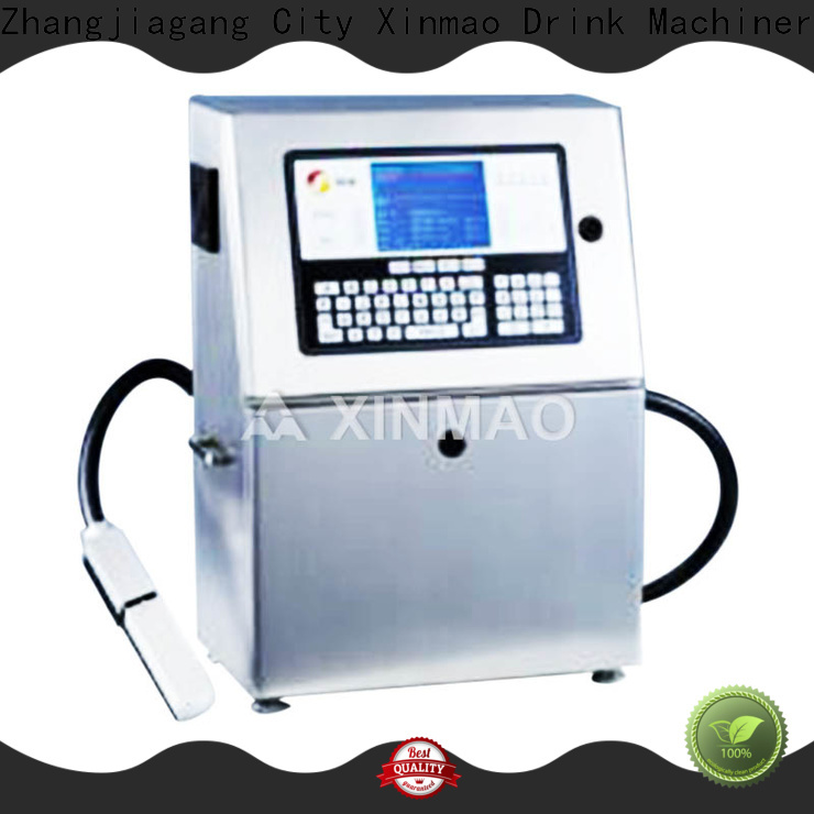 Xinmao inkjet expiry date printing machine price suppliers for plastic bottle