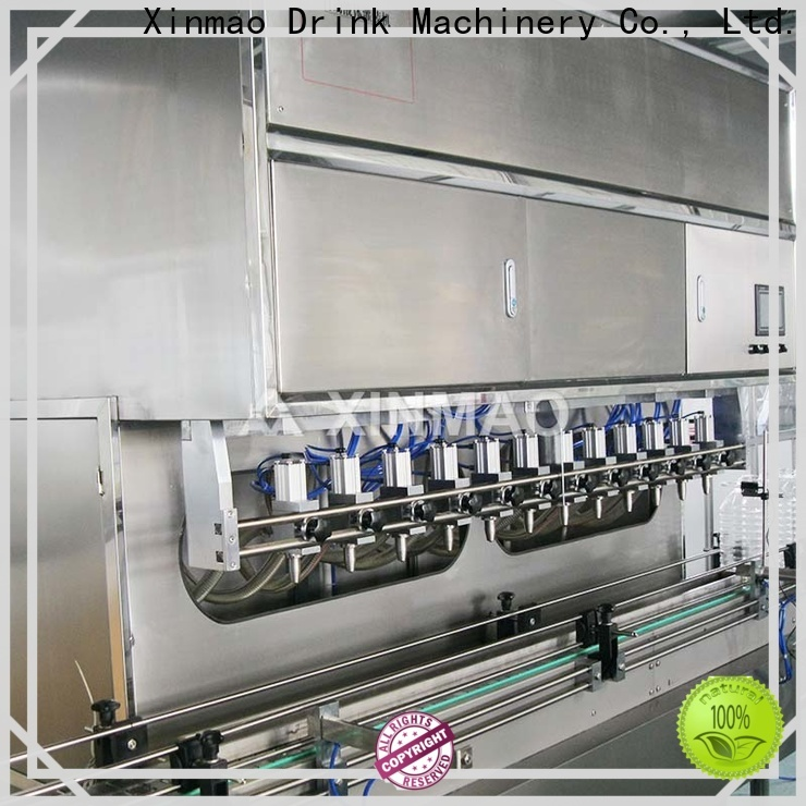 Xinmao wholesale olive oil filling machine for business for oil