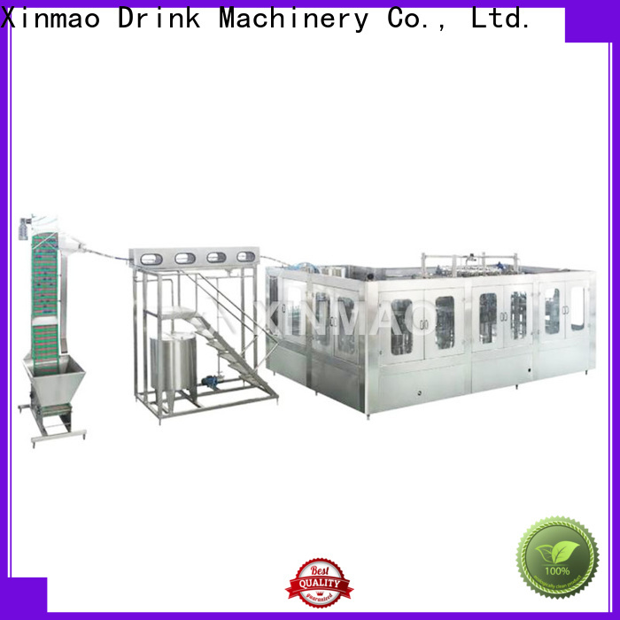 Xinmao big filling machinery factory for water bottle