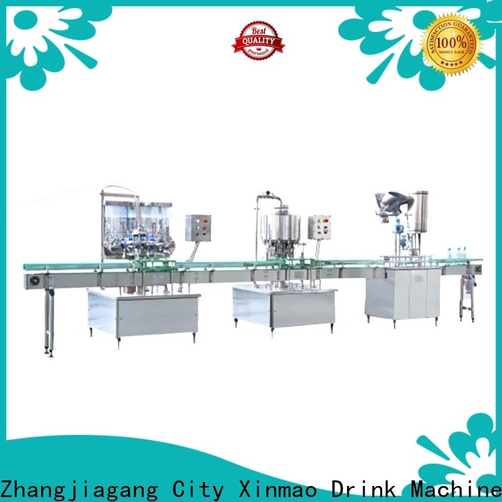 Xinmao automatic 15ml bottle filling machine company for mineral water