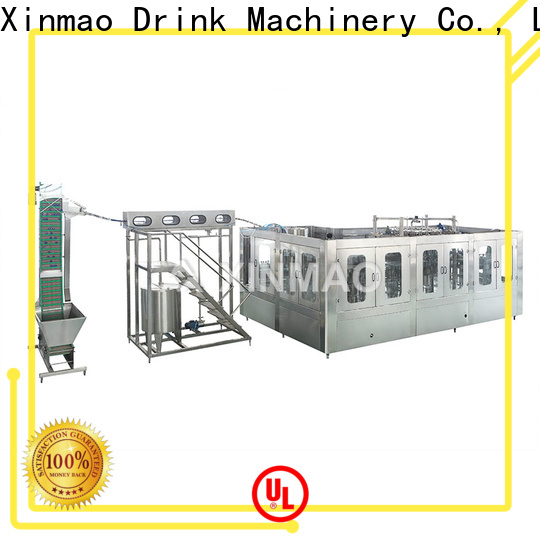 Xinmao canned juice packaging machine for business for juice