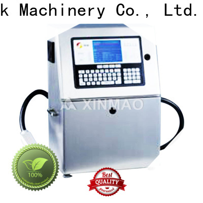 Xinmao wholesale date printing machine supply for round bottle