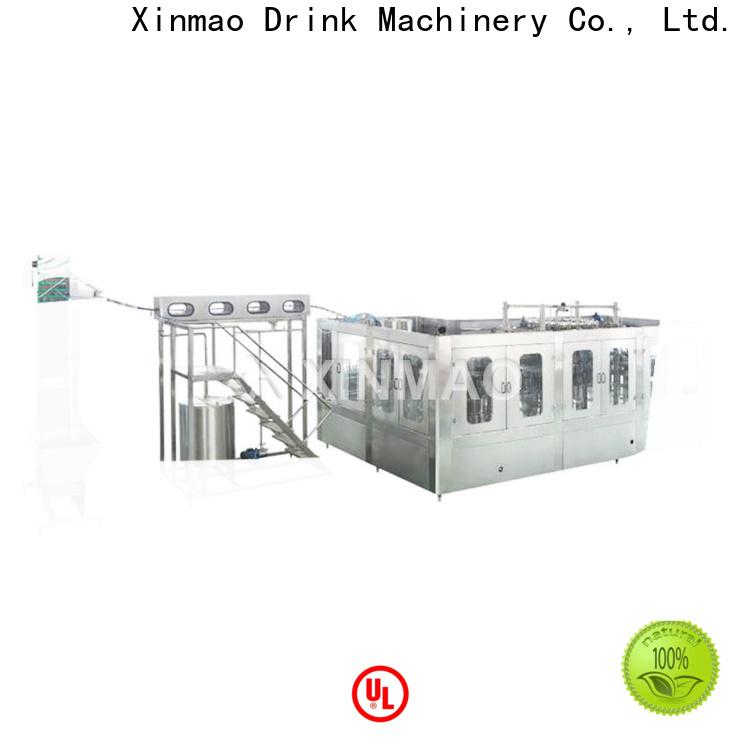 Xinmao top liquid bottle filling machine suppliers for water bottle
