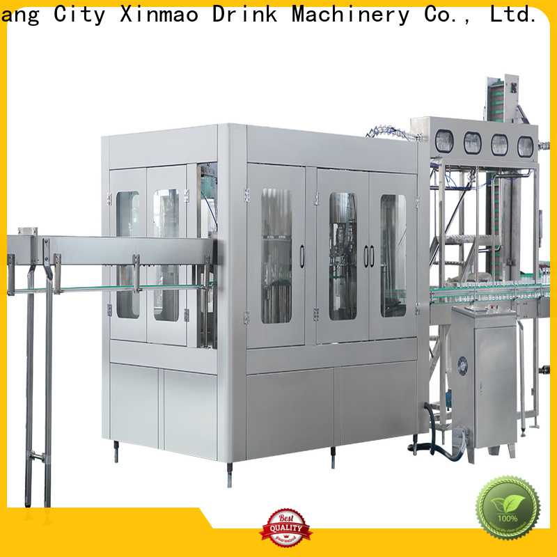 Xinmao filling automatic mineral water bottle filling machine suppliers for pet bottle