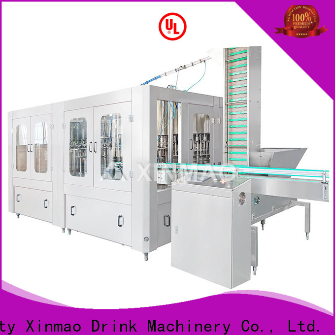 Xinmao can carbonated filling machine factory for soft drink