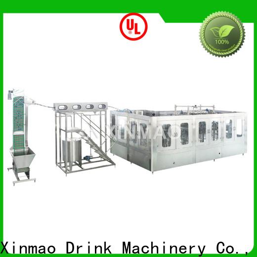 Xinmao top liquid packing machine factory for water bottle