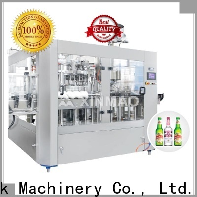 Xinmao New beer packaging machine company for beer can