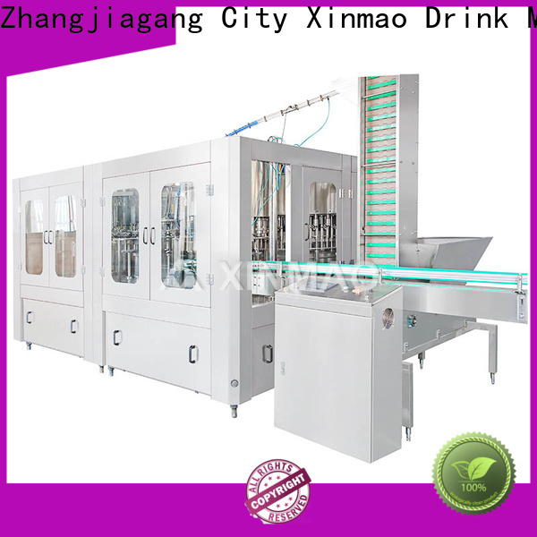 Xinmao latest pet bottle soda filling machine factory for soft drink