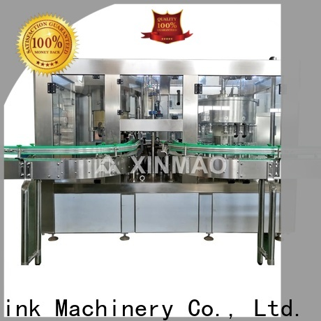 Xinmao automatic juice bottle filling machine for business for juice
