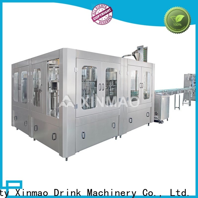 Xinmao high-quality 20 ltr water jar filling machine company for mineral water