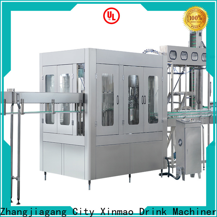 Xinmao bottle bottle filling machine for sale for factory