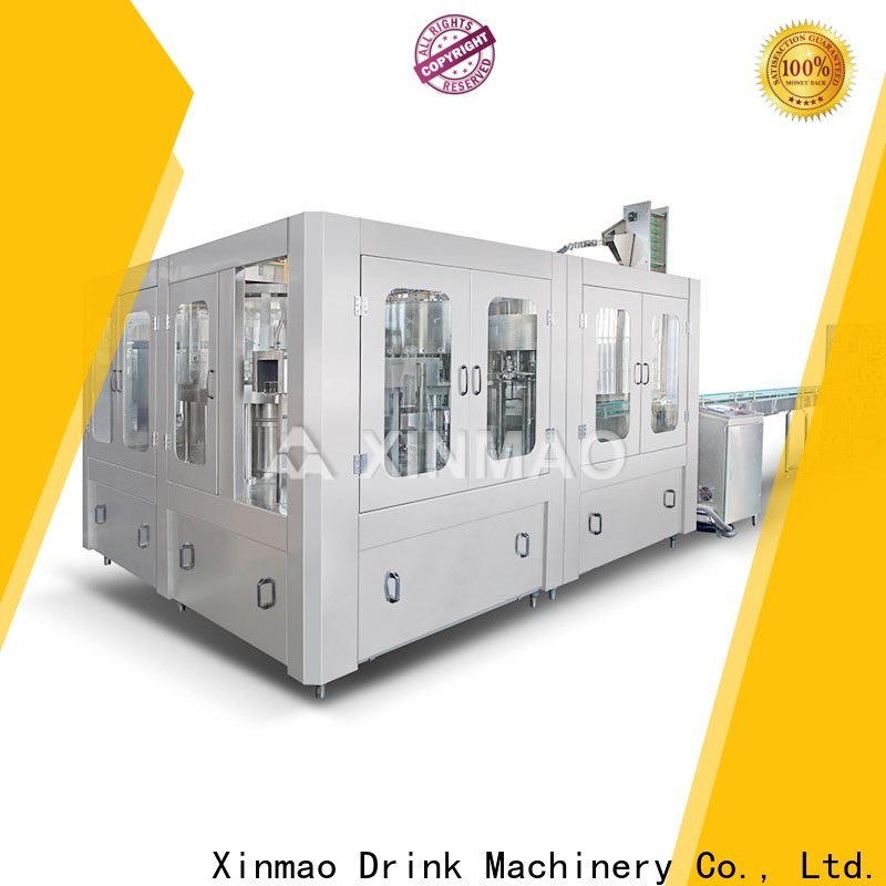 Xinmao New automatic mineral water bottle filling machine suppliers for water jar